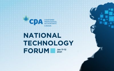 National Technology Forum by CPA Canada coming next week